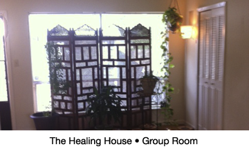 The Healing House Group Room