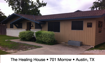 The Healing House side
